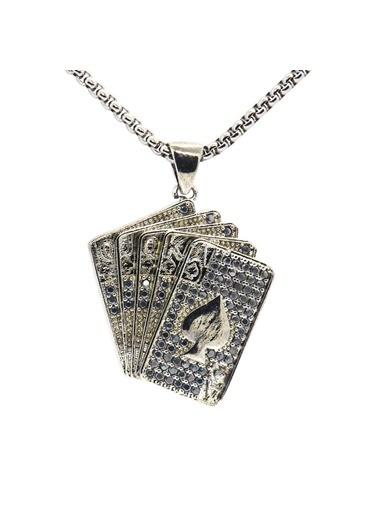 Zuk Collection Kolye Gümüş